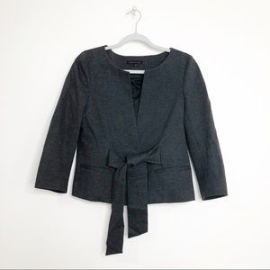 Theory | Tie Front Blazer sz L